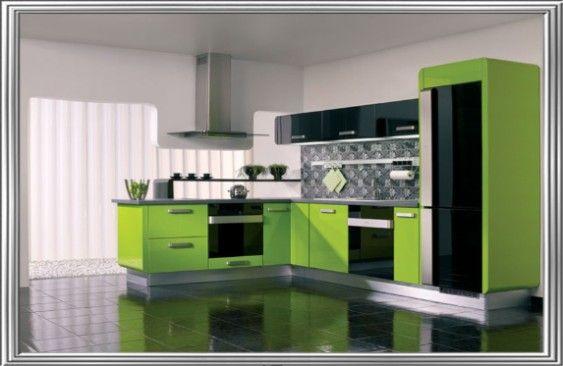Modern stílusú MDF fóliás konyhabútor #konyha #kitchen #furniture #konyhabútor