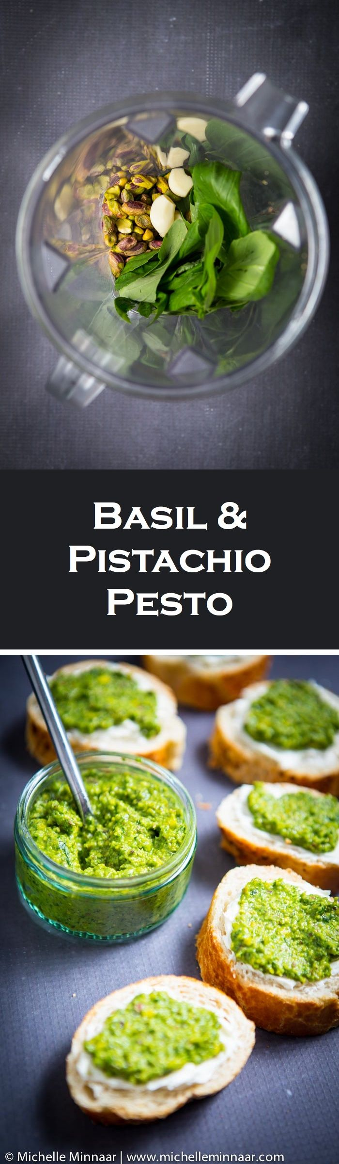 Basil & Pistachio Pesto - Easy to make a big batch and then freeze in portions. Learn how to use pesto in 21 different ways!