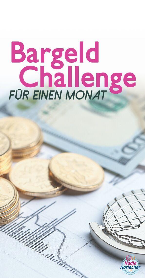 Bargeld Challenge für einen Monat. Wie sieht es bei dir in der Haushaltskasse aus? Komm, wir bessern diese gemeinsam auf.