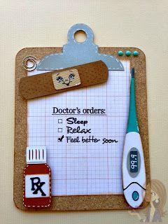 Cute Get Well card....