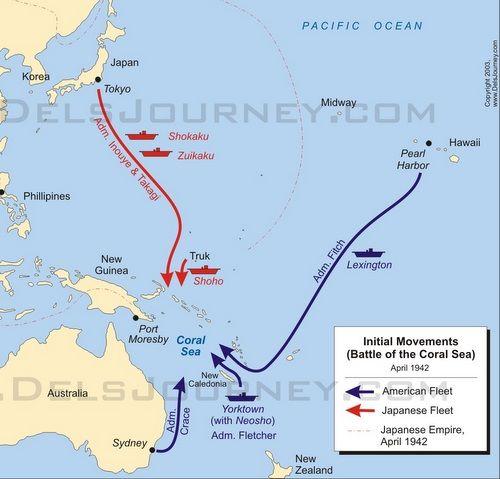 Trận đụng độ lớn đầu tiên giữa các tàu sân bay trong lịch sử