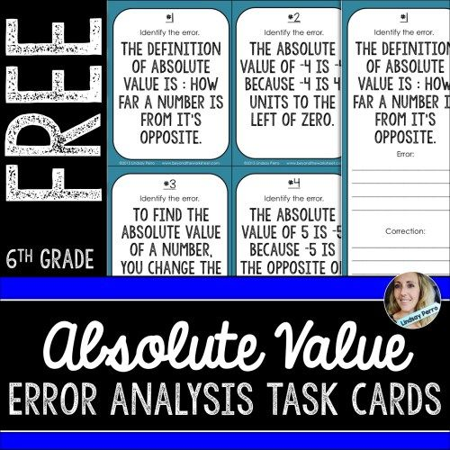 Absolute Value Error Analysis                              …