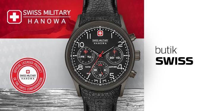 Więcej aktywności i ruchu w Nowym Roku? Bogaty wybór sportowych szwajcarskich zegarków  Swiss Military Hanowa w butiku SWISS! Sprawdź koniecznie!