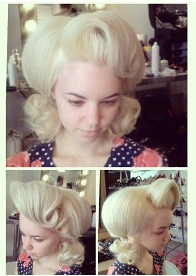 ❤Big hair TEXAS styling