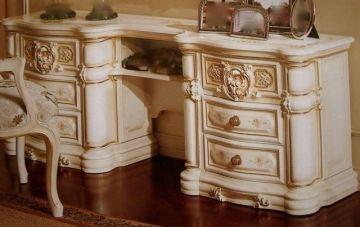 Barocke Frisierkommode Schminktisch Schlafzimmer - Shop Landhaus Look