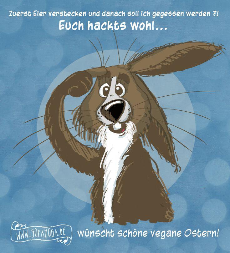 Sofayoga wünscht friedliche Ostern 2015 #Ostern #Hase #Osterhase #Spruch