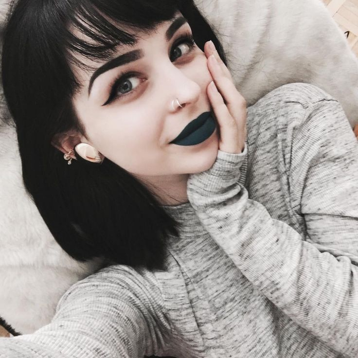 Cute darker makeup
