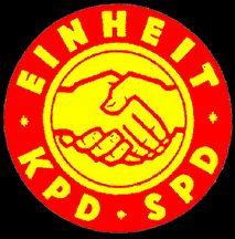 [Unification Emblem 1946 (East Germany)]