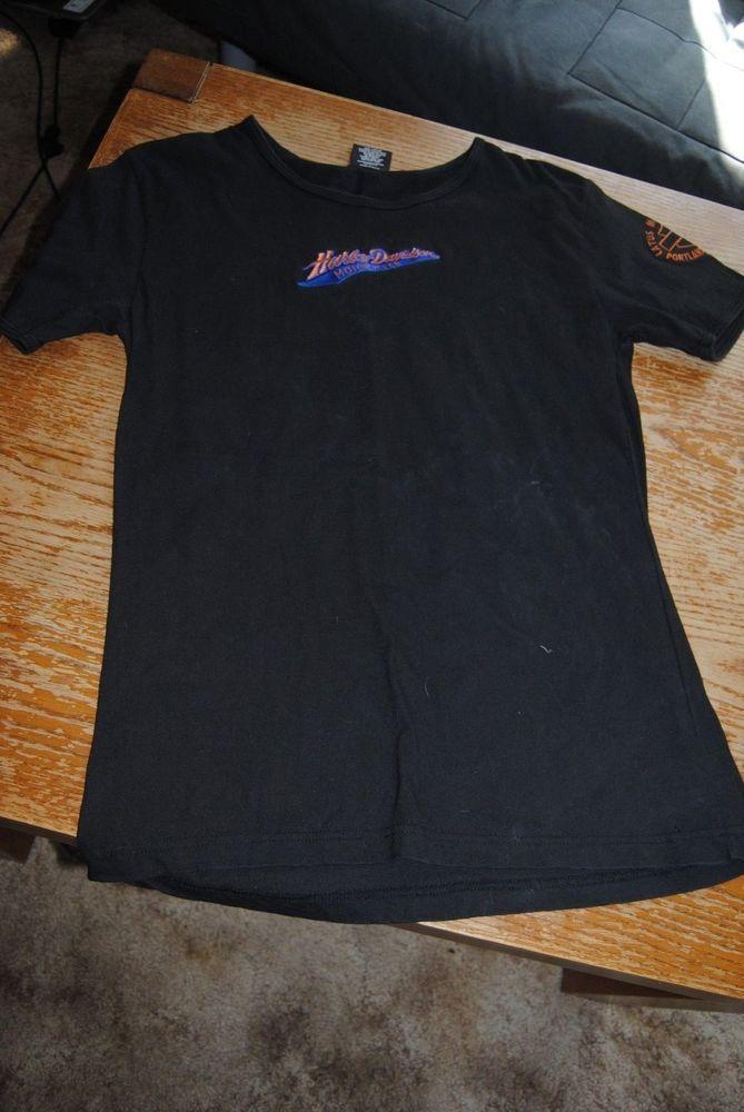 Harley Davidson Lot Of 5 Womens L Xl Shirts Harleydavidson