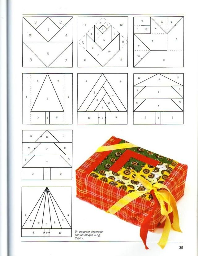 Blog de polaarteemtecido :Pola  -  Arte em Tecido, Grafico 2 - um presentinho para quem gosta de patchwork