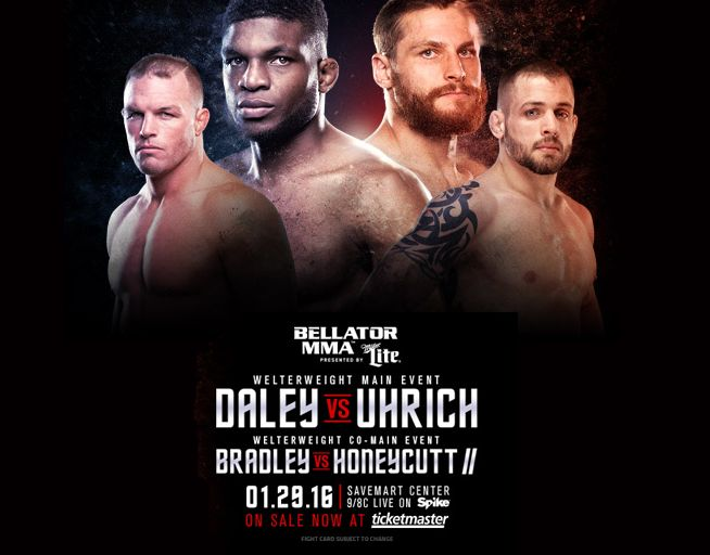 Tuesday January 12, 2016– Next up on the Bellator schedule is live from Fresno California, with the original main event being canceled due to the injury of the former UFC fighter Josh Koschec…