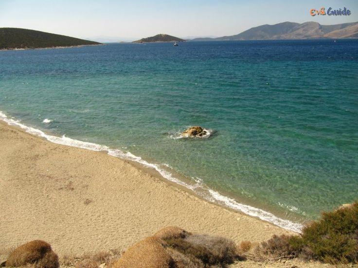 Megali Amos Beach Marmari n the South of Evia