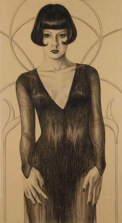 Jared Joslin, 'Temptress' 2009Joslin Temptress, Art Shmart, Art Inspiration, Art Deco, Artcharact Design, Jared Joslin, Art Character Design, Art Deco, Art Portraits