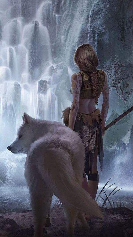 Dark fantasy desktop background wallpaper nr16  – Theo's sisters