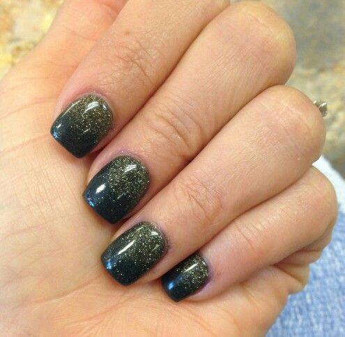 Forest Green Amp Gold Nexgen Nails Nails Pinterest