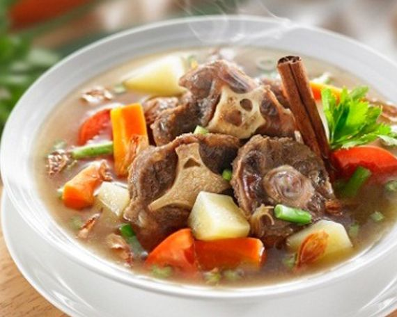 Oxtail Soup Recipe  ~ Priscilla Prue~