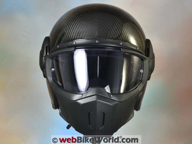 "Get Amazing Motorcycle Gear & Service at RevZilla The Breakdown 4.5 9 The Caberg Ghost could have easily become a novelty helmet with good looks but disappointing real-world performance. Surprise! It actually works really well and it's one of the best ""streetfighter/retro"" helmets we've tried. The ultra light weight of the Carbon version makes the ..."