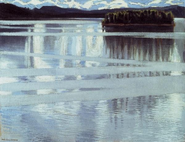 """""""Lake Keitele"""" (1905) by Akseli Gallen-Kallela"""