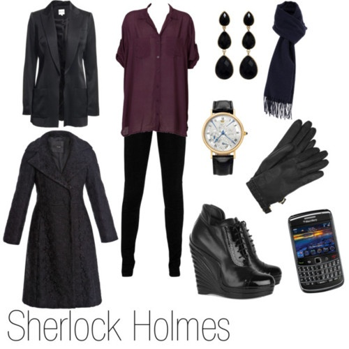 Sherlock fashion.  Much better coat...the shoes would kill me though!!!