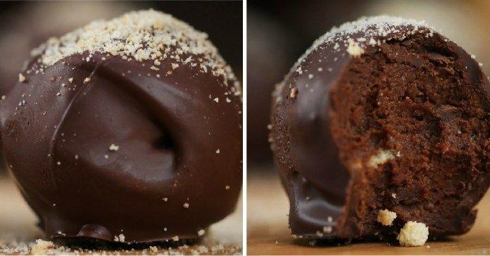 Lahodné čokoládové lanýže s příchutí tiramisu + videorecept