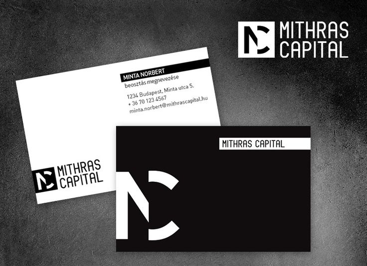 Mithras Capital logo és arculattervezés. We really love it.