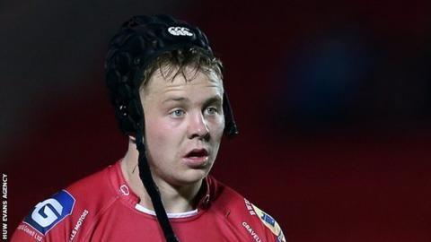 "Scarlets flanker James Davies sorry for ""unforgivable actions"""