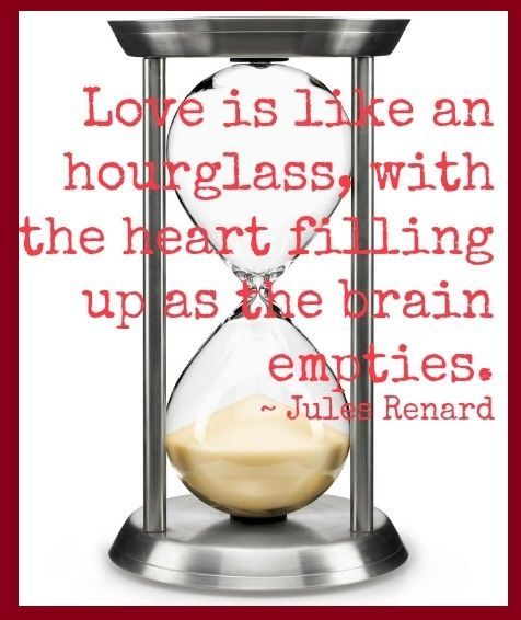Love is like an hourglass love quotes heart funny quotes humor valentines day quotes valentines day pictures funny valentines day quotes hourglass