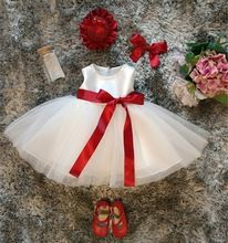 Newborn Baby Girl 1st Birthday Outfits Kids Frock Designs Baby Christmas Tutu Dress For Girl Junior Child Bridesmaid Ball Gown(China (Mainland))