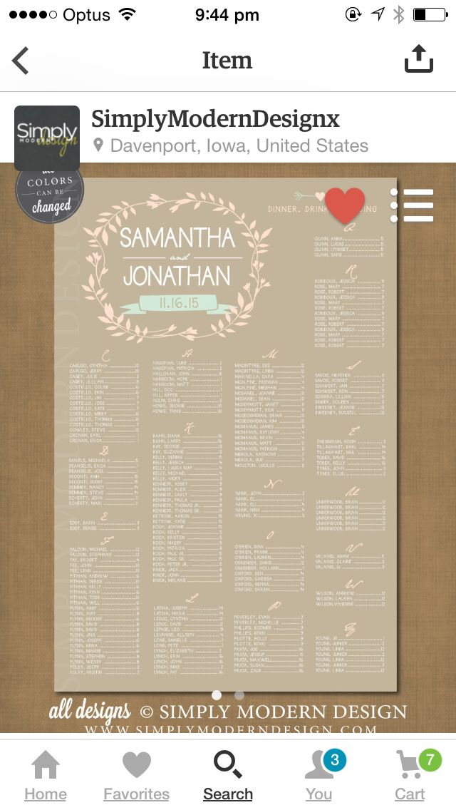 96 best Wedding Seating Chart images on Pinterest Weddings - wedding chart