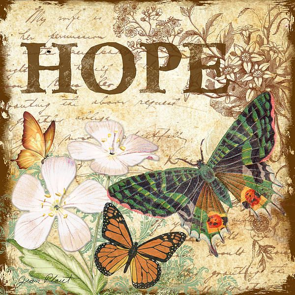 I uploaded new artwork to fineartamerica.com! - 'Hope and Butterflies' - http://fineartamerica.com/featured/hope-and-butterflies-jean-plout.html via @fineartamerica