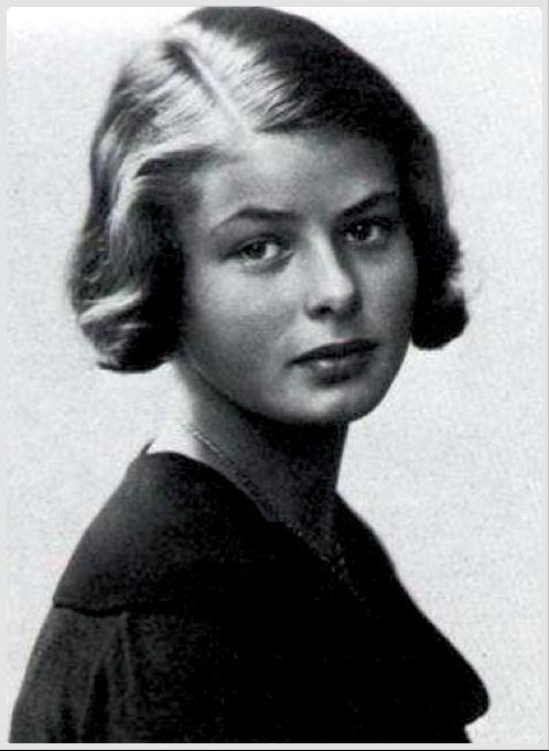 Indrid Bergman, at 14