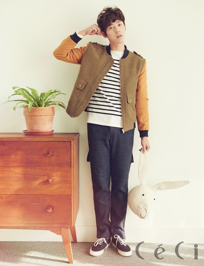 South Korean actor Yoon Hyun Min for CeCi's Nov '14 edition #yoonhyunmin #ceci #discoveryofromance #findingtruelove #korea #southkorea