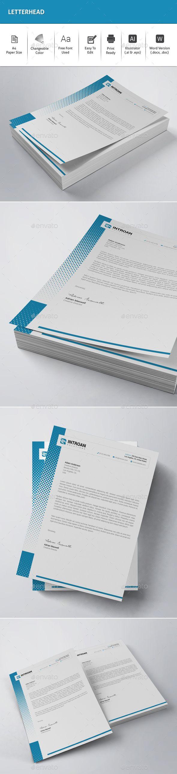17 Best ideas about Letterhead Design on Pinterest | Letterhead ...