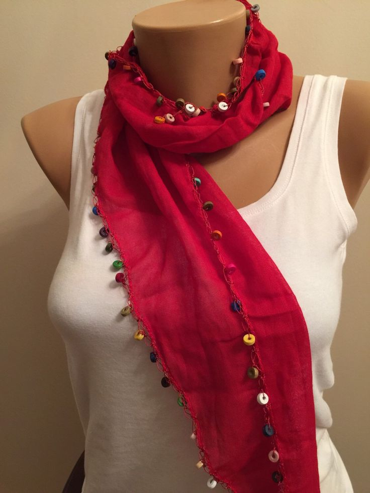 264 best mothers day gift ideas images on pinterest cheap mothers wooden beaded red cotton edge scarf cotton red scarf belt headband scarf beads bead edge scarf gift for her present negle Gallery