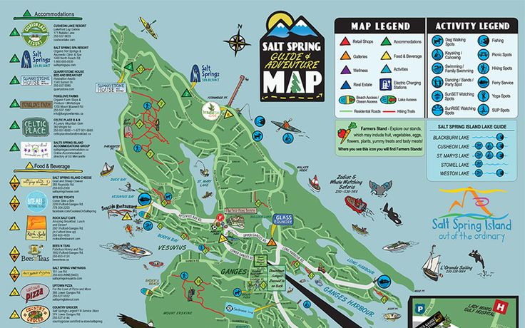 Salt Spring Adventure Map The Salt Spring Map is a super fun way to experience…