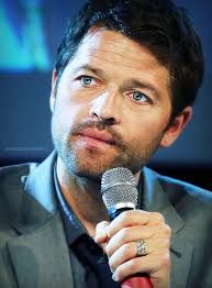 Image result for misha collins blue