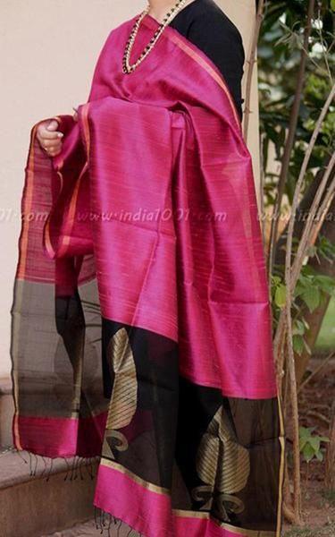 Gorgeous Woven Dupion Silk Dupatta