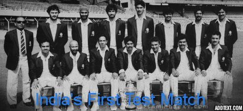 """""""Cricket Lovers Only Dream is to live for Cricket....... """".  With Sportsmanship Spirit and Love for Cricket, India has come a long way from its First Test Match to 500th Test Match.  India Playing its 500th Test Match Vs NewZealand Today. For more Live information Watch at : http://es.pn/2dcGSPu #CricketLove #Indias500thTestMatch #DentalBlasters #DentistsCricketTeam"""