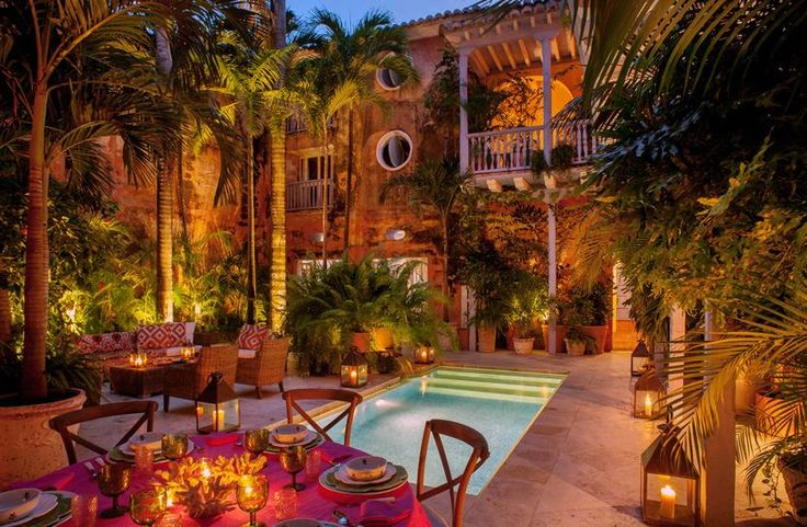 Casa Botero. Luxury Cartagena Villa with Artistic Pedigree. Find more here: http://ticartagena.com/en/accommodation/colonial-houses/luxury-cartagena-villa-with-artistic-pedigree/