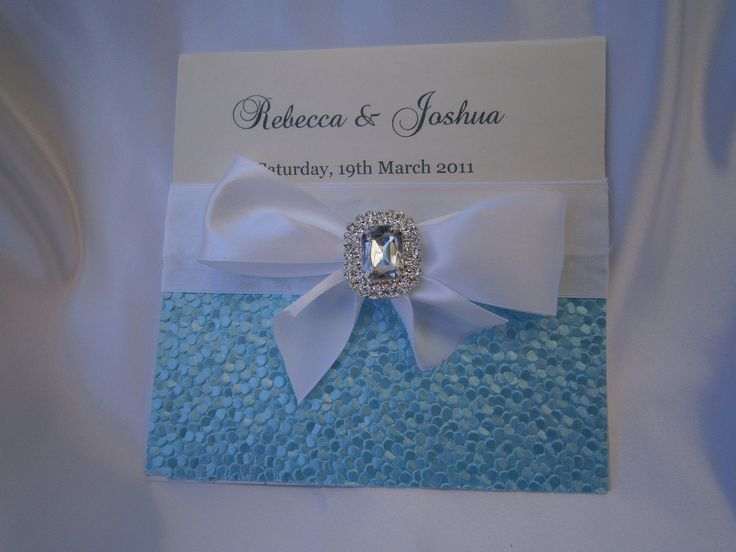 """Kristelle"" Wedding invitation https://www.facebook.com/LuPerlaInvitations"