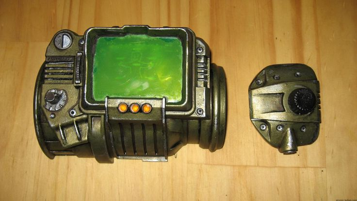 How to Make a Pip Boy 3000 Replica Prop