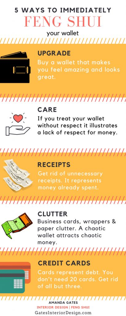 5 Ways To Immediately Feng Shui Your Wallet