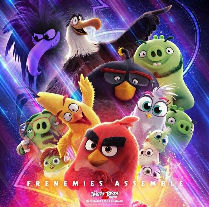 Poster Of Angry Birds Movie 2 Personajes De Juegos Dibujos Mickey Angry Birds