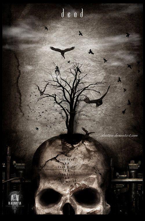 death fly away: Art Work, Dark Painting, Skull, Art Paintings, Darkart, Darker Side, Art Pictures