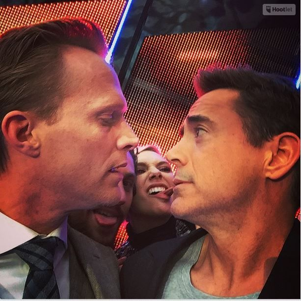 """""""My dear Jarvis... All grown up and strangely NOT"""" Robert Downey, Jr. and Paul Bettany"""
