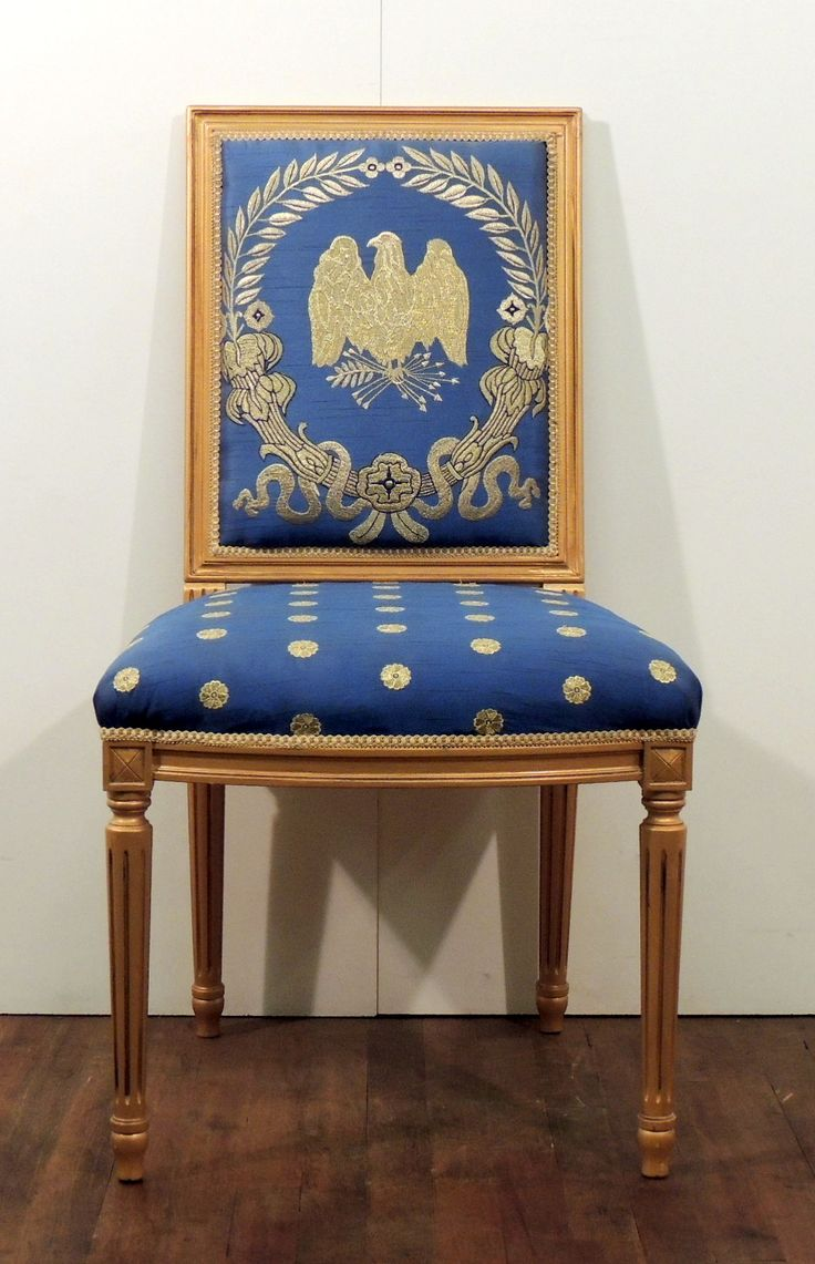 Oval Office Chair, Presidential, Eagle On Back,   Warner Bros. Property  Department