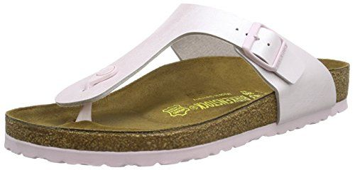 Birkenstock Gizeh Birkoflor Graceful Rosa  Flip Flops  Thongs Womens  745641  Regular Fit EU41 >>> More info could be found at the image url.(This is an Amazon affiliate link and I receive a commission for the sales)