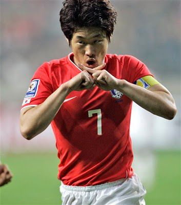 park ji sung Manchester Utd and South Korea