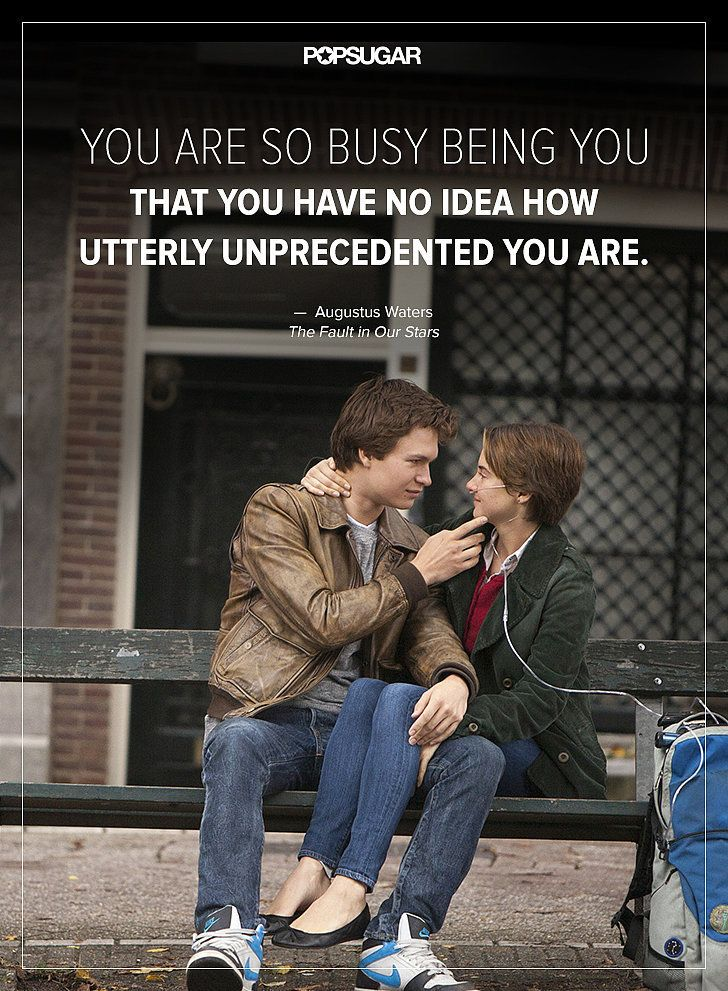 You are so busy being you that you have no idea how utterly unprecedented you are.