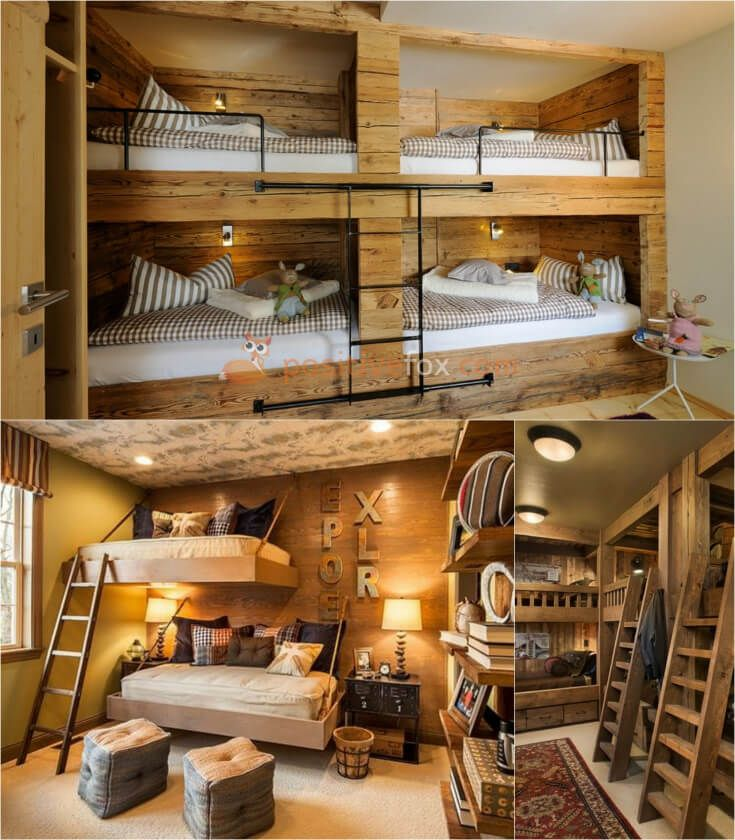 Country Style Kids Rooms Interior Design. Explore more Country Style Kids Rooms on https://positivefox.com #smallspaceskidsrooms #countrykidsroom #kidsroomideas #countrykidsroomideas #interiordesign #collage #homeideas #homesmallspaces #smallspaces #countrydesignideas #countrykidsroom #countryinterior #woodenkidsroom #woodinteriordesign